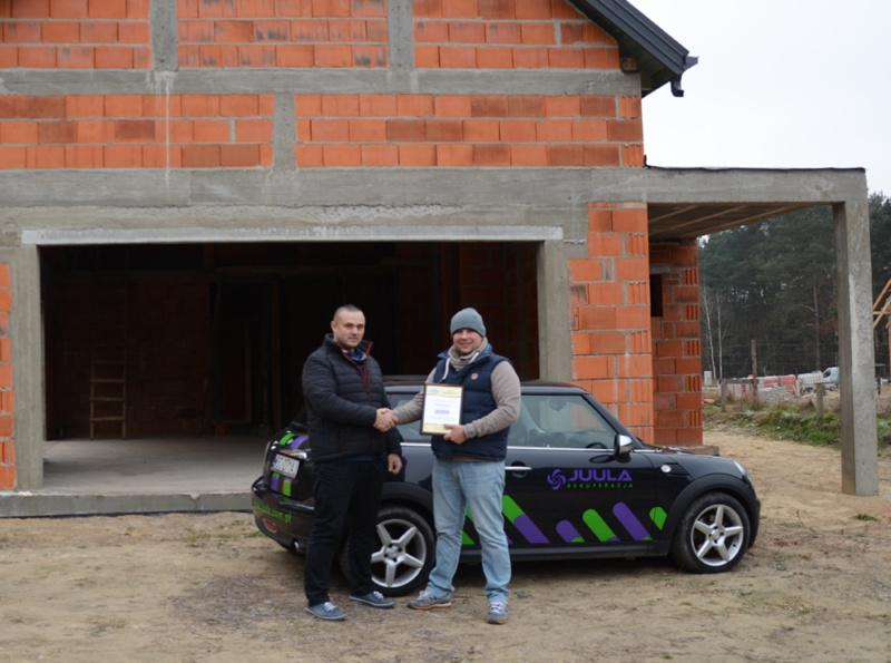 Wydano certyfikat akredytacji dla JUULA REKUPERACJA
