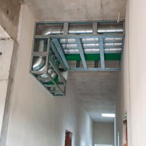 Przemyślana i fachowo wykonana część instalacji. Zmieściła się nawet skrzynka rozprężna.